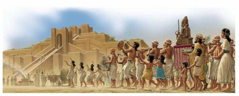 Sumerian Procession
