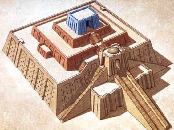 ur of the chaldees ur ziggurat
