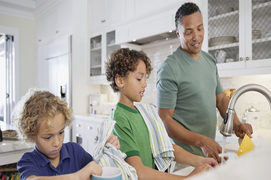 YOUNG MALE HOUSE CHORES