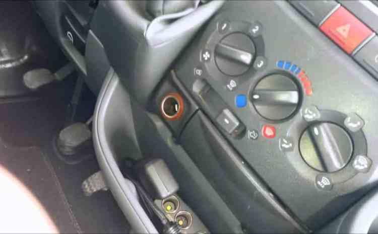 chauffage de voiture