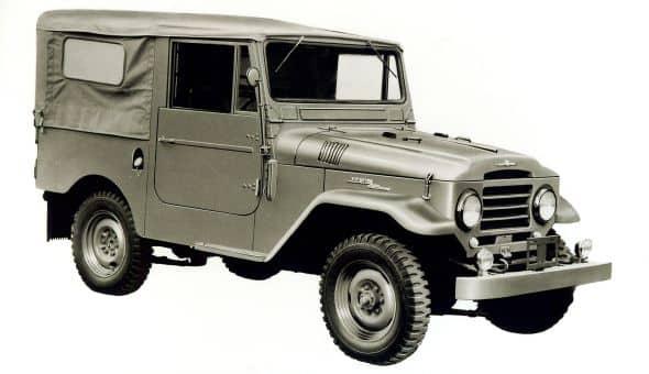 Evolution de la Toyota Land Cruiser (Modèles lourds et légers) 3