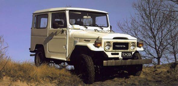 Evolution de la Toyota Land Cruiser (Modèles lourds et légers) 4