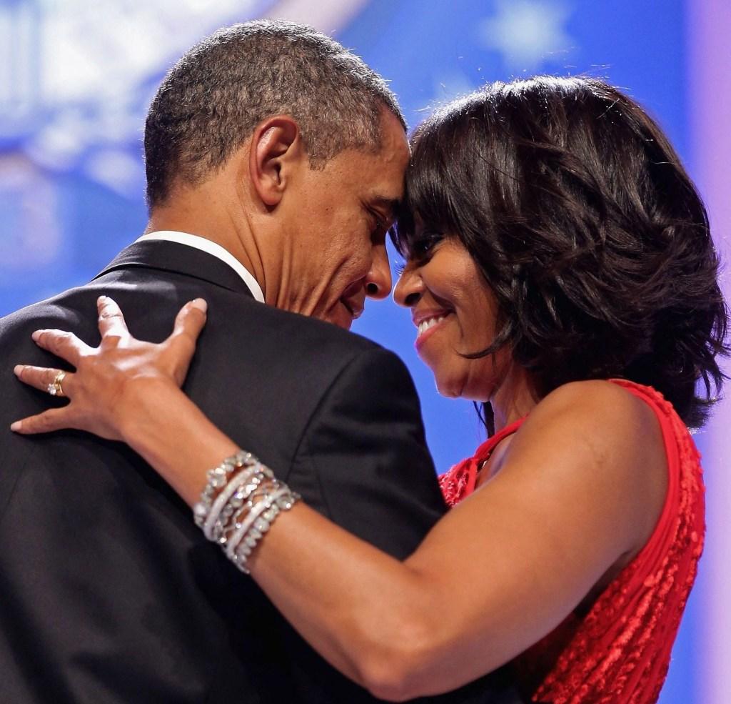 Michelle Obama Barack Obama Couple