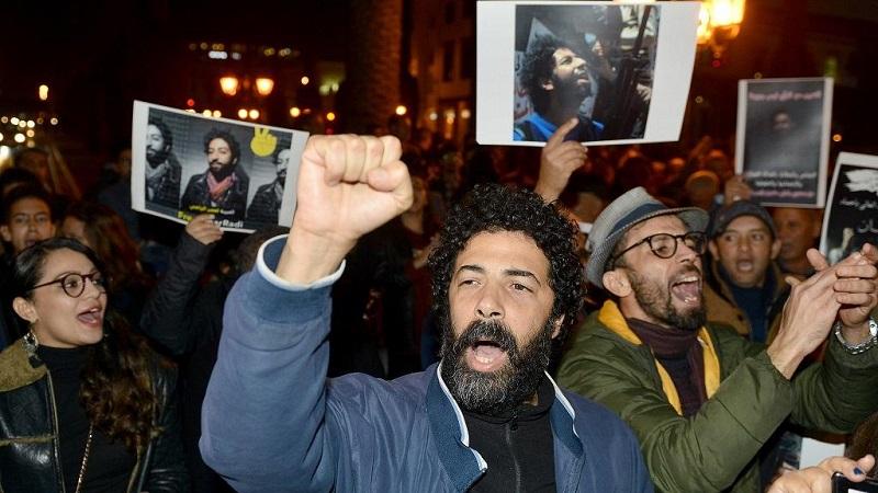 Maroc peuple révolté Omar Radi