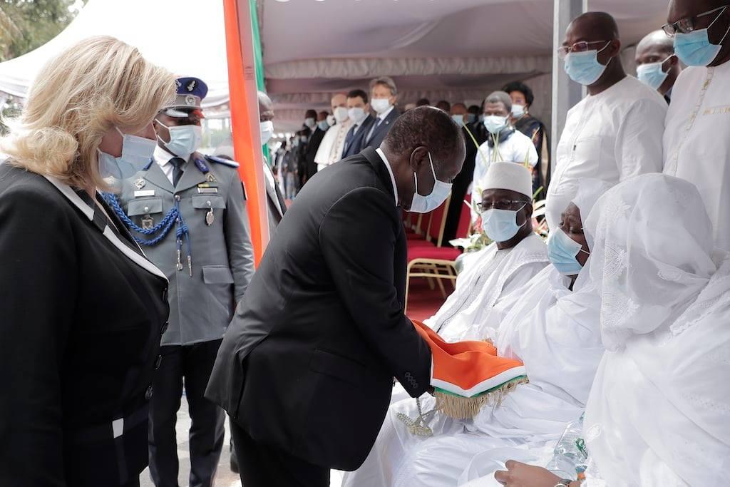 Côte d'Ivoire : L'hommage national au défunt ministre Sidiki Diakité en photos