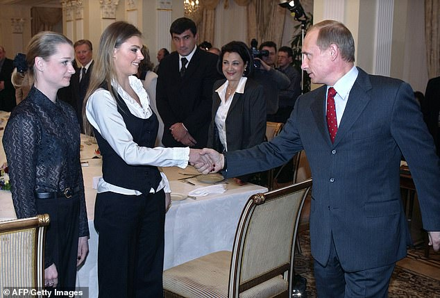 Vladimir Poutine Alina Kabaeva