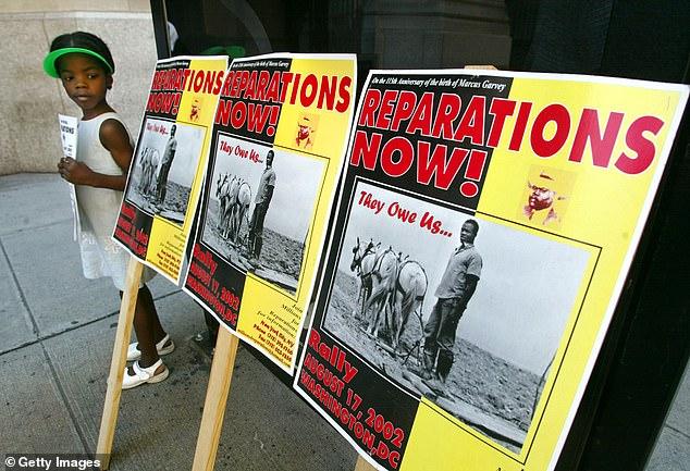 Californie indemnisation esclaves