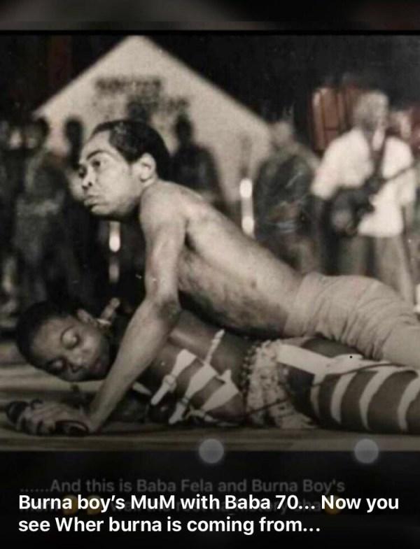 Burna Boy Fela Kuti
