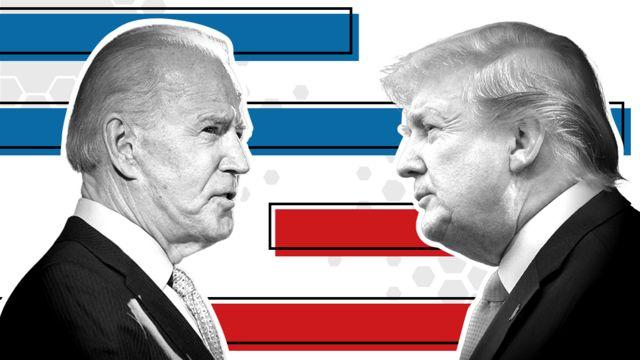 Joe Biden menacé par Donald Trump ce mercredi