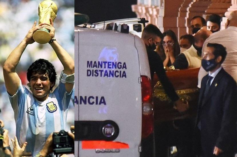 Diego Maradona Décès