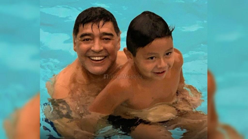 Diego Maradona fils