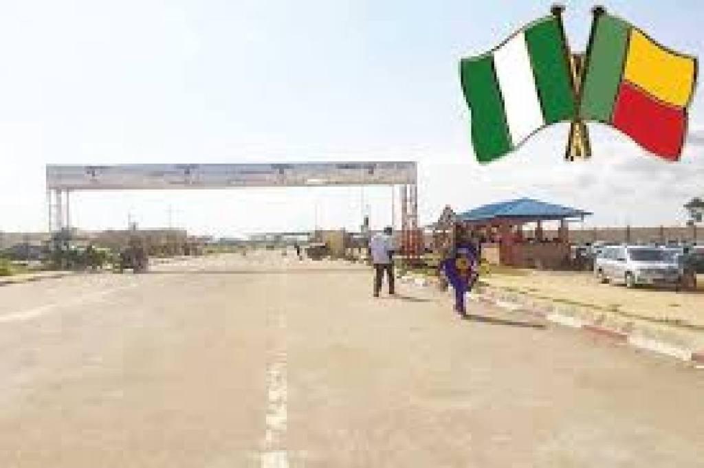 Nigeria frontières