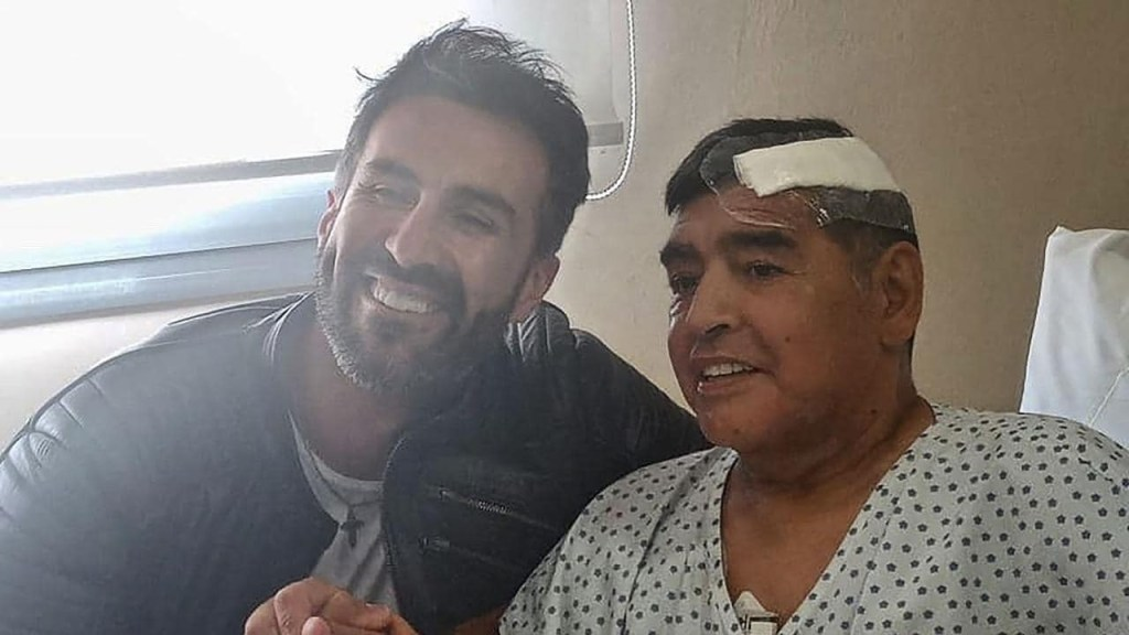 Diego Maradona Infirmière