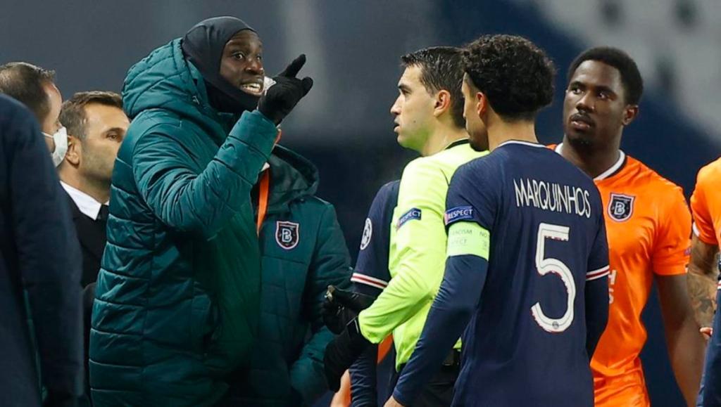 Pierre Webo Racisme match
