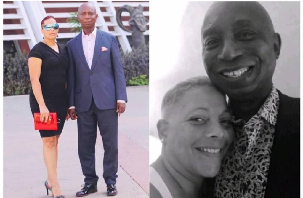 Ned Nwoko bras autre femme Phyllis Tompson