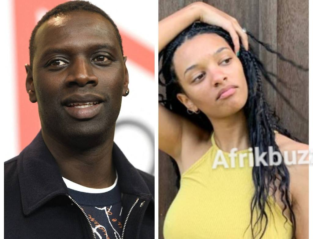 Omar Sy sa fille Selly moitié nue