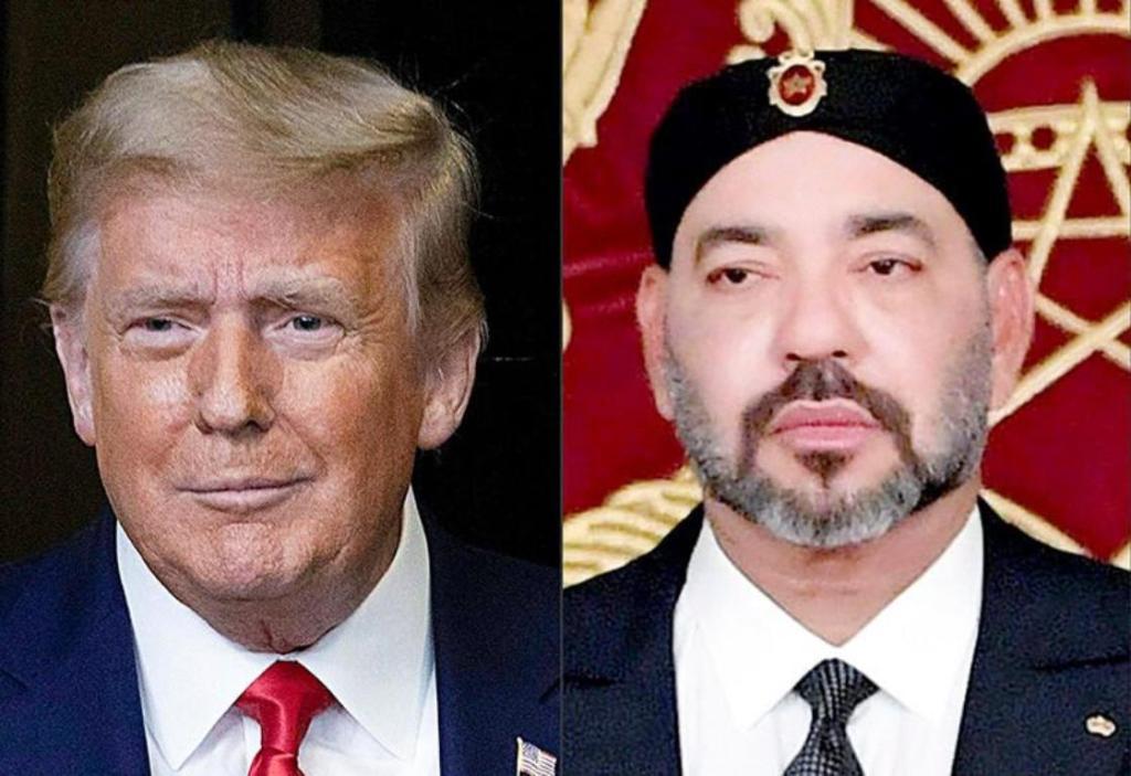 Trump Mohamed VI Legion mérite