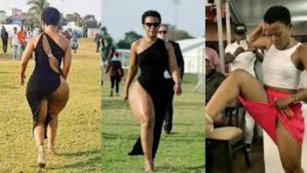 Zodwa Wabantu grosses fesses nus