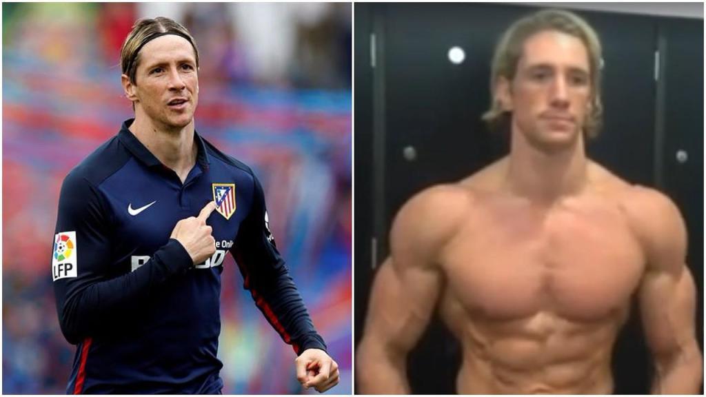 Fernando Torres musclé, métamorphosé