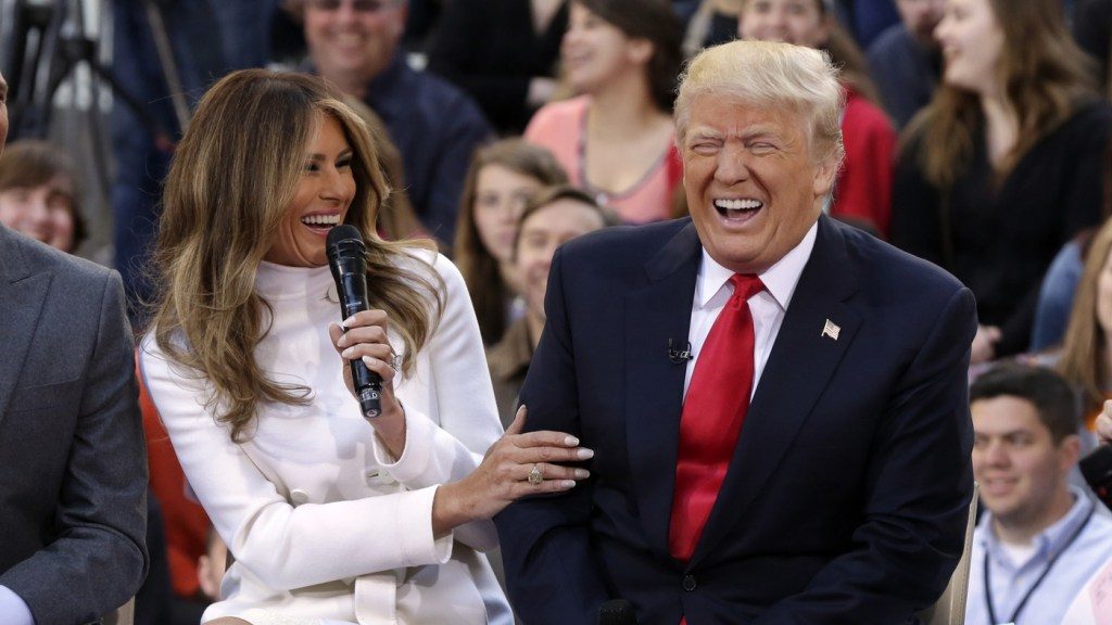 Melania Trump Capitole
