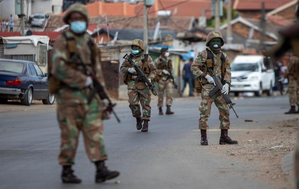 couvre-feu Gabon Covid-19 militaires
