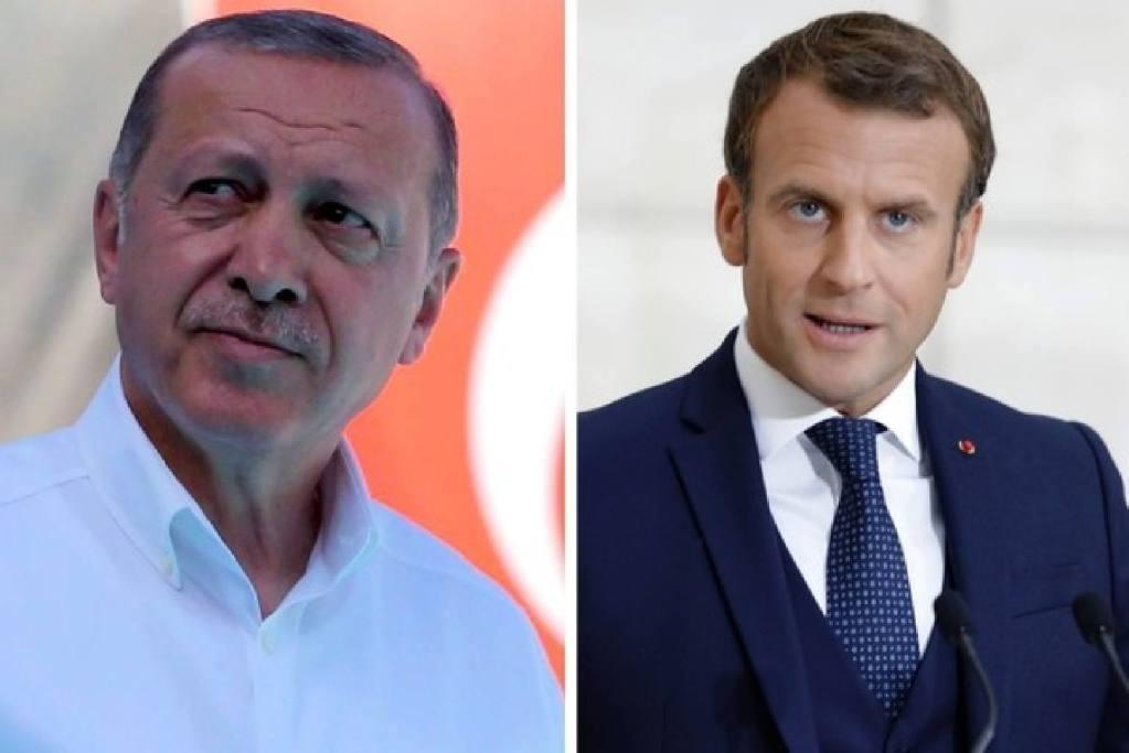 Erdogan Macron 1 million algériens tués