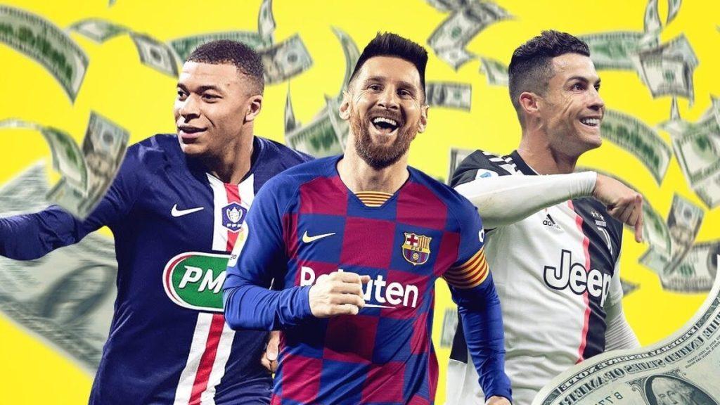 Les footballeurs les mieux payés en 2020