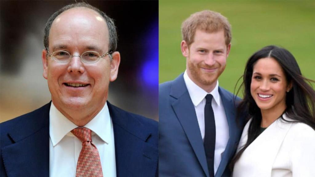 prince Harry Meghan Markle Albert II Monaco