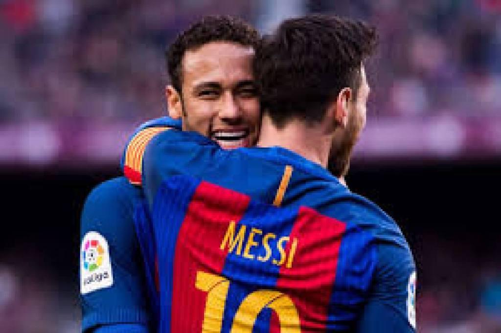Neymar Messi PSG