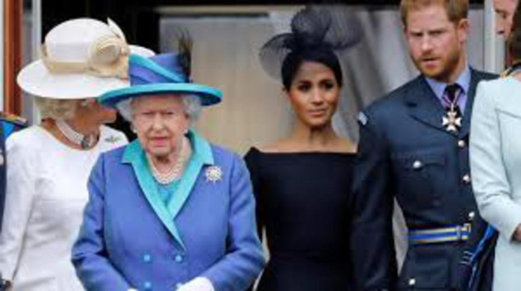 reine Elisabeth II juste triste pas en colère accusation racisme prince Harry Meghan Markle