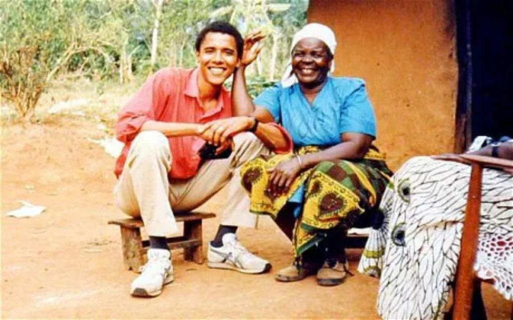 Barack Obama en deuil grand-mère décédée