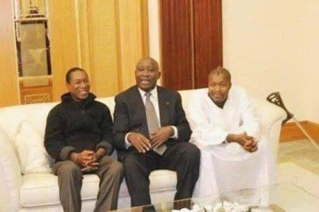 Djibril Cissé Laurent Gbagbo réconciliation père