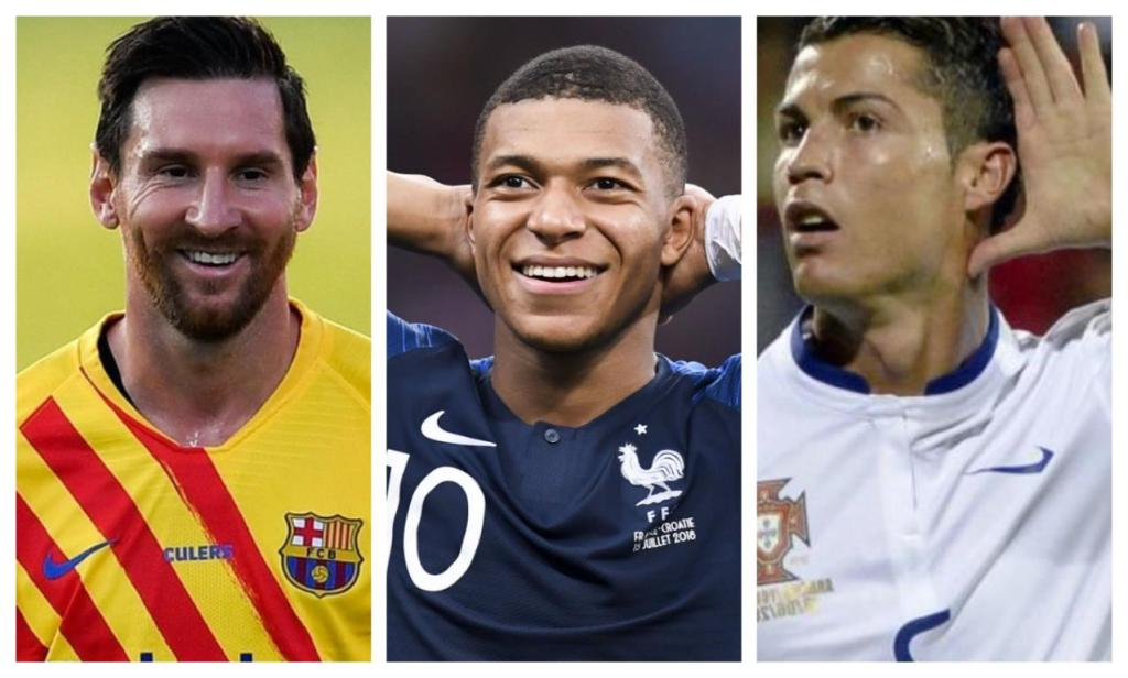 Kylian Mbappé meilleur que Messi Ronaldo