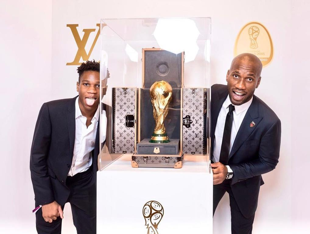 Isaac Drogba joue pour Mali fédération malienne football