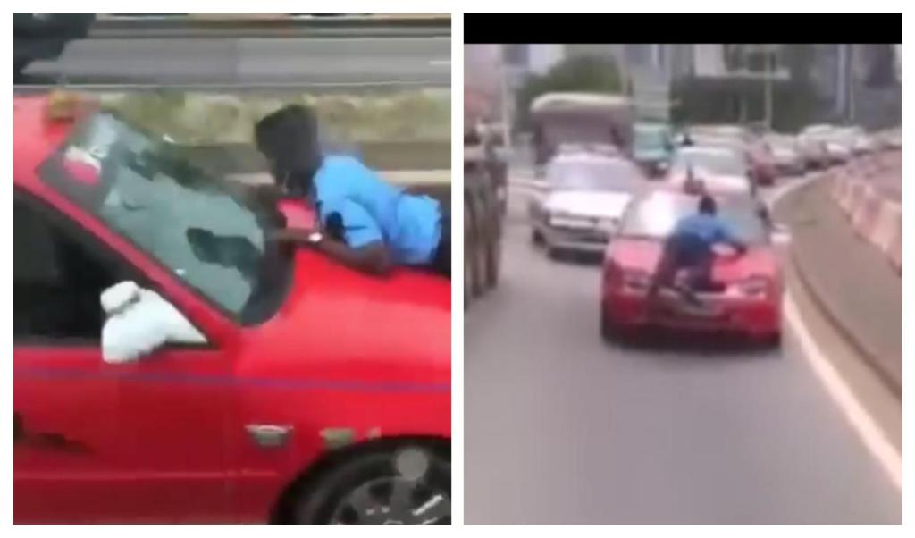 COULIBALY BEMAN chauffeur trimballe policier