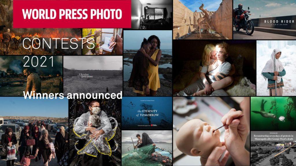 World Press Photo 2021 cliché symbolique covid-19 1er prix