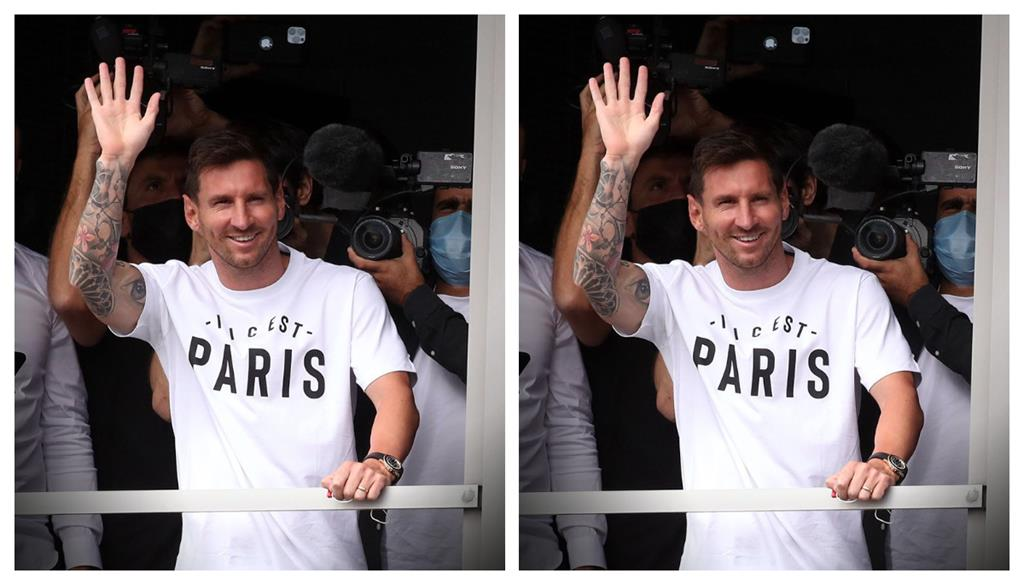 Lionel Messi arrivée PSG