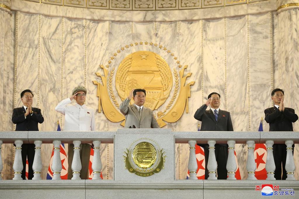 Kim Jong Un maigre