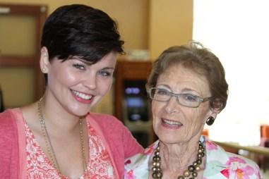 My Gran & I before graduation