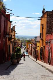 Beautiful streets in San Miguel