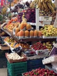 Fruits in the Mercada de la Cruz