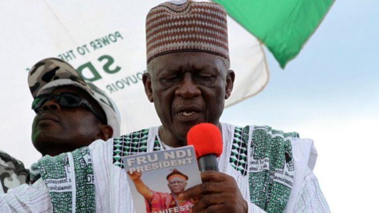 Cameroon: John Fru Ndi step down for youths
