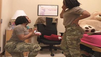 An American soldier ready to marry herself [Photo]