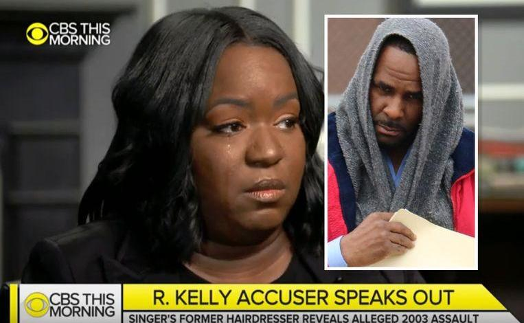 """Alleged R. Kelly's victim says: """"His DNA ended up on my shirt"""""""