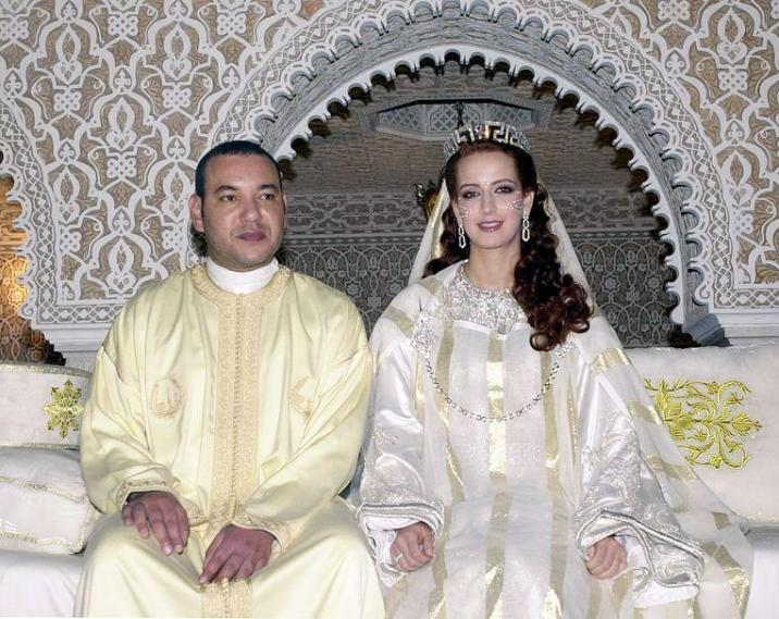 """Alleged double life undermines the throne of Moroccan jet-set king: """"Regular customer in Brussels gay bars"""" lalla salma"""
