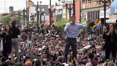 """Presidential candidate O'Rourke lashes out at Trump: """"Immigrants make the US a safer place"""""""
