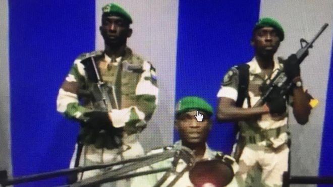 Attempted coup d'état in Gabon.
