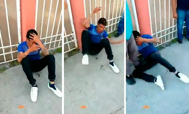 Stalker beats to stupor for harassing a lady walking alone [Video]