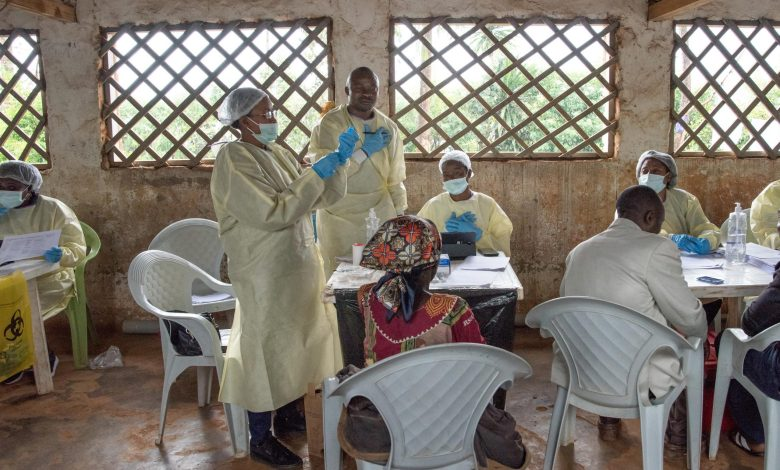 More than 90 health workers infected with Ebola in the DRC