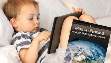 """The iPad is disabled: """"Try again after 48.5 years"""""""